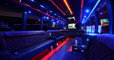 40 Person Party Bus Rental Oklahoma City